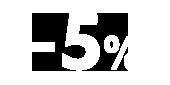 5% скидка для пенсионеров
