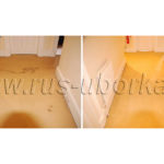 Химчистка пятен на ковролине в коридоре
