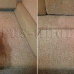 Химчистка пятна на диване от кофе