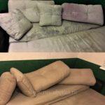 Химчистка прямого дивана