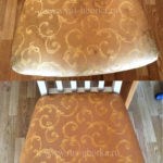 Химчистка стул с узорами